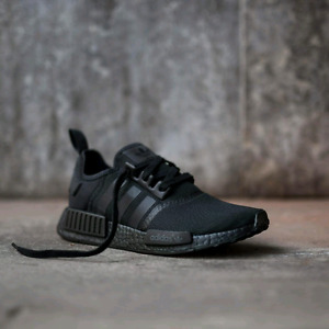 Authentic NMD TRIPLE BLACK SIZE 9