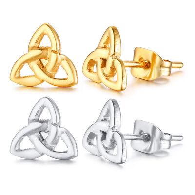 Celtic Knot Ear Studs Drops Women Earrings Valentine's Day Mother Sister Gift  Celtic Knot Drop Earrings