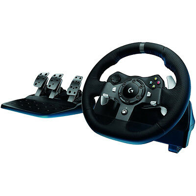 Logitech Driving Force G920 Force Feedback Steering Wheel for XBox & PC