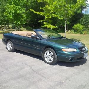 1997 Chrysler Sebring JXi Convertible