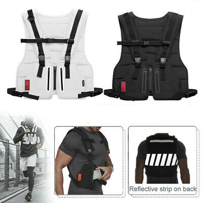Tactical Vests Combat Harness Radio Chest Rig Vest Hunting Sports Fitness tops