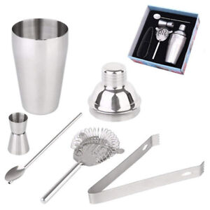 Selling Brand New In Box 5 Pcs Cocktail Shaker Martini Mixer Bar
