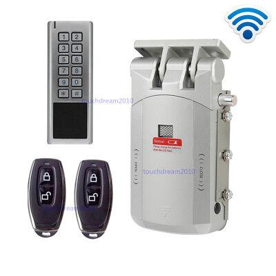 Wireless Smart Door Lock Electric Home Anti-theft Lock Security Lock With Keypad