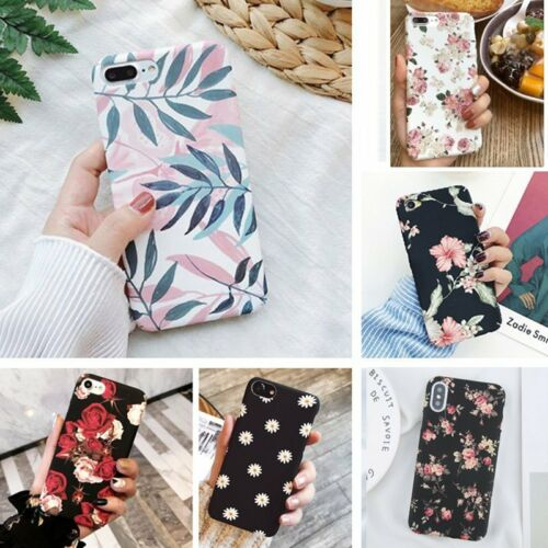 Hybrid Shockproof Hard Flower Thin Case Cover For iPhone XS Max 7 7 Plus 6s 8+ X