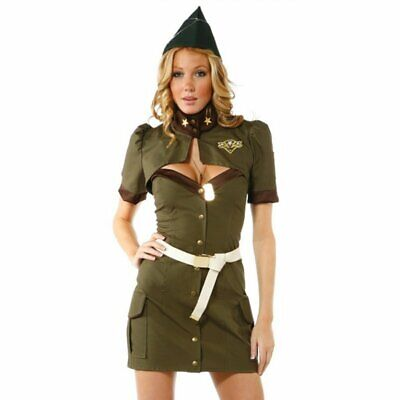woman's Sexy Santa and Sultry Soldier Dress Mini Skirt Cute custome Party - Cute Santa Dresses
