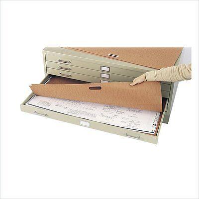 Safco Flat Files 36 X 24 Metal File Portfolio Set Of 10