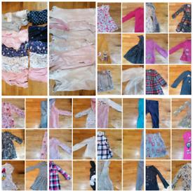Girls clothing bundle next ect 18 -24 months