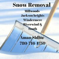 Snow removal in all south areas