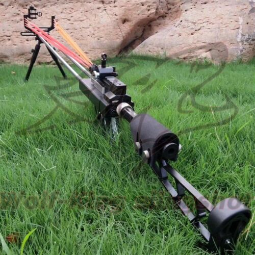 Powerful catapult Hunting Slingshot Rifle Safe Stainless Steel Shooting Outdoor