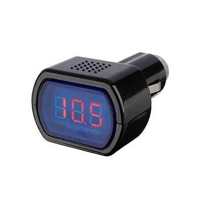 Digital Mini LED 12V/24V Car Vehicle System Voltmeter Voltage Gauge Volt Meter