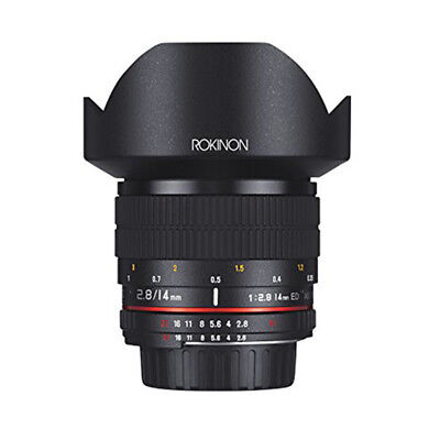 Rokinon 14mm f/2.8 Fast Ultra Wide Angle Lens for Nikon