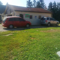 For sale commercial auto sales and repair shop