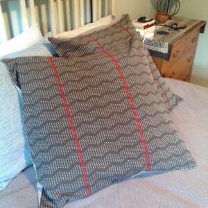 West Elm Pillow Euro Pillow Shams