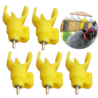 5pcs Snap Poultry Drinking Water Nipples Chicken Hen Automatic Drinker Waterer