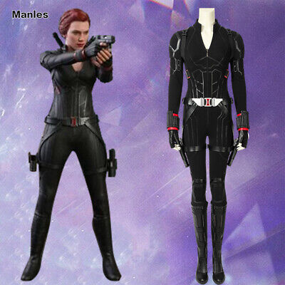 Avengers 4 Endgame Black Widow Costume Natasha Cosplay Outfit Halloween Suit