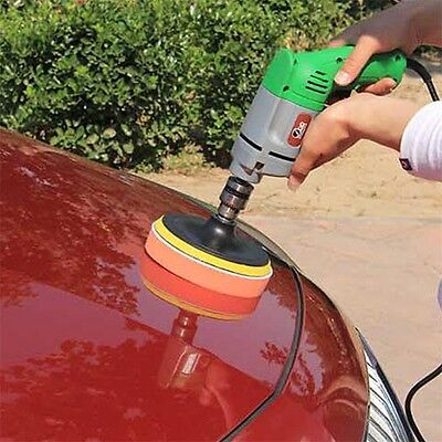 7pcs Gross Polishing Buffing Pad Kit for Car Polishing With Drill Adapter dcGH