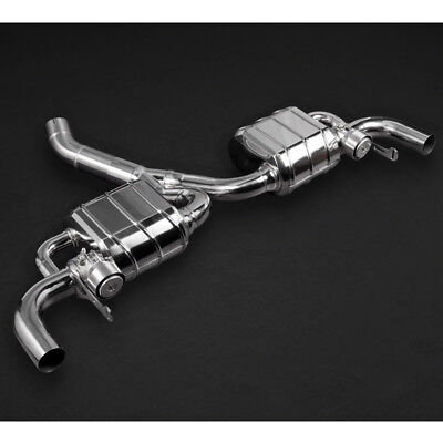 Capristo Mercedes AMG GLA45 Valved Exhaust System with Remote Control
