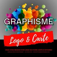 Graphiste, Infographie Conception de carte d'affaires, Logo