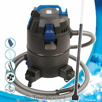 AquaForte Teichschlammsauger,35L-1400W, Koi Teich Pool Schlammsauger Teichsauger