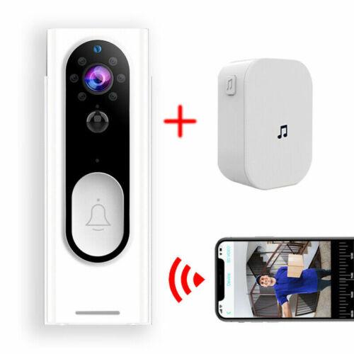 Wireless Doorbell WiFi Video Smart Talk Door Ring Security HD Camera Bell