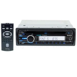 Sony CDX-M20 Single DIN Marine CD and Sirius XM Ready