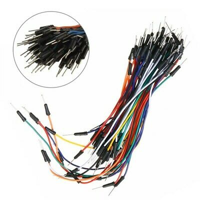 65pk Solderless Flexible Breadboard Male To Male Jumper Cable Wires For Arduino