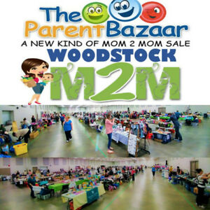 SHOP at the Sept 22nd Woodstock Parent Bazaar Mom to Mom Sale!