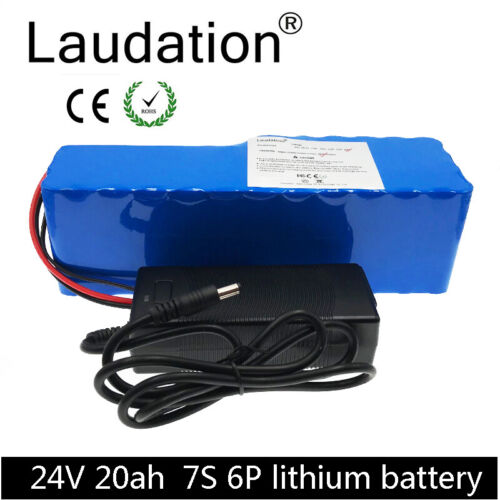 Laudation 24V 20ah Electric Bicycle Battery  Built-in Samsung Battery With BMS