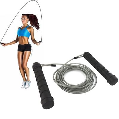 Skipping Rope Speed Jumping Cable Pro Weighted For Boxing Fitness Gym MMA