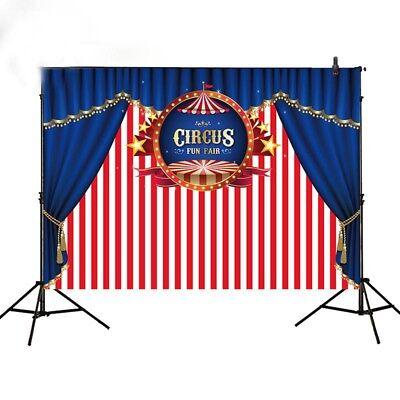 background circus theme birthday stripes children backdrop newborn photobooth - Circus Themed Backdrop