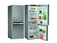 large capacity A+ rated stainless fridge freezer