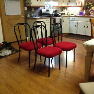 4 Cool chairs for sale