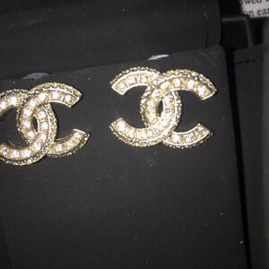 Chanel earrings and necklace