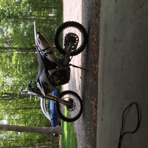 Mint 2008 yzf 250 with power core exhaust.