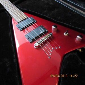 Flying V * JACKSON guitare *  + Hard Case.