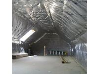 Get your loft insulated from £ 8 / sqm