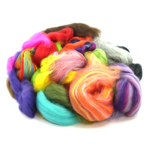 500g of Roving / Top Waste - Botany Lap Waste - Wool Ends - Felting - Spinning