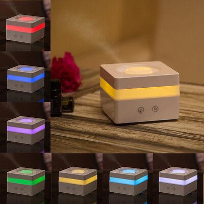 120ml Mini Essential Oil Aroma Diffuser Air Aromatherapy Ultrasonic Humidifier