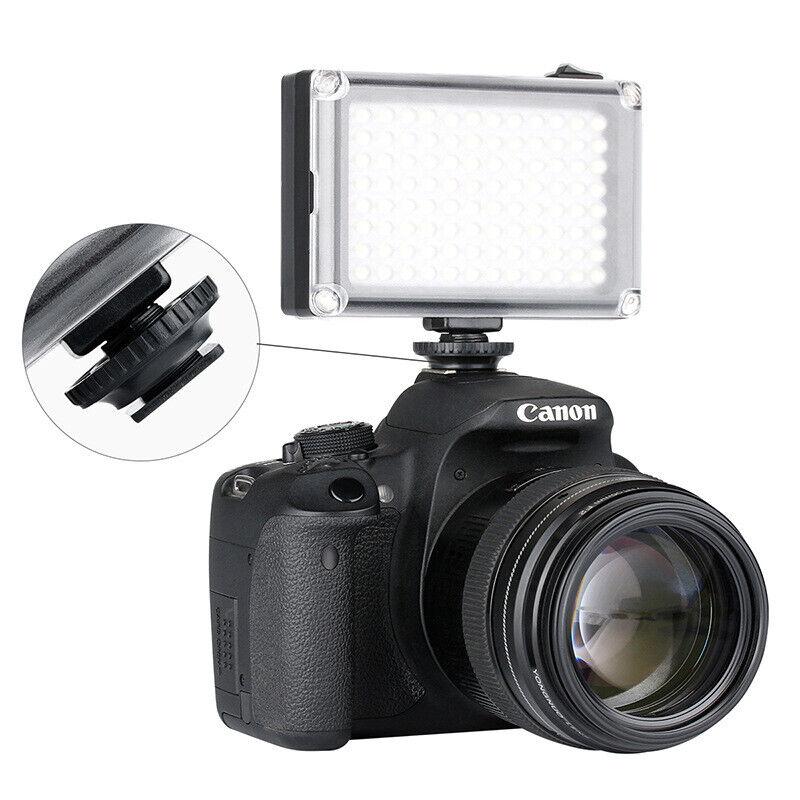 Rechargable LED Video Light Lamp Photo for DSLR Camera Wedding Fill-in Light