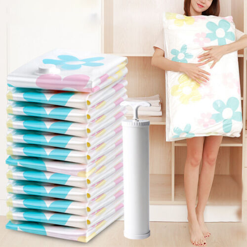 11pcs/set Large Vacuum Storage Space Saver Bags for Blanket
