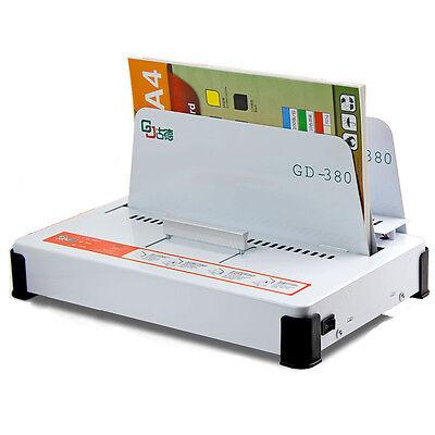 Gd380 Automatic Hot Melt Binding Machine A3 A4 A5 Book Envelope Binder 220v Y