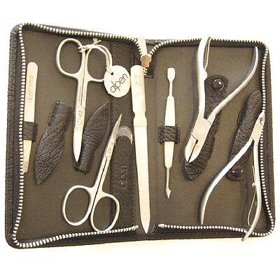 Set manicure pedicure , forbici unghie, tronchesino, lima, pinzette...ITALY 100%