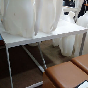White Table / Desk - 7 available Kitchener / Waterloo Kitchener Area image 2