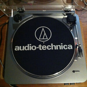 Audio-Technica AT-LP60 Fully Automatic Belt Driven Turntable USB Peterborough Peterborough Area image 2