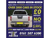 Nissan Navara 2.5dCi ( EU V ) Tekna FROM £83 PER WEEK