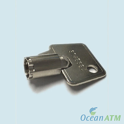 Hyosung Tranax Atm Top Door Bezel Key - Only 6.99 All Hyosung Machines