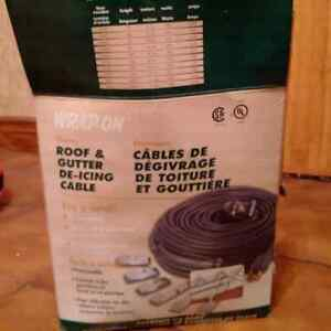 100ft Roof & Gutter De-Icing Cable Kitchener / Waterloo Kitchener Area image 1
