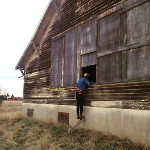"""Antique """"Picker"""" looking for old sheds and barns"""