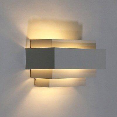 TOP Design 9W Led Wandlampe Warmweiß Schlafzimmer Wandleuchte Bedside Flurlampe