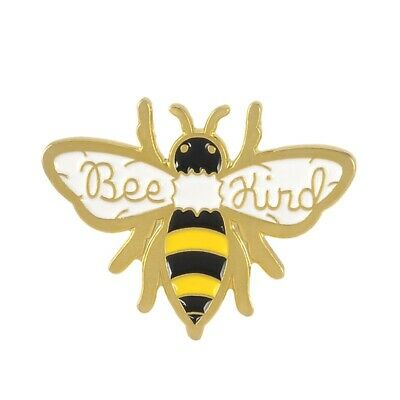 Bee Pin Jewelry - Bee Kind Enamel Pin Cute Honey Bee Badge aesthetic Animal Jewelry Gifts
